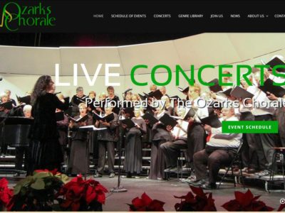 The Ozarks Chorale New Website Launch